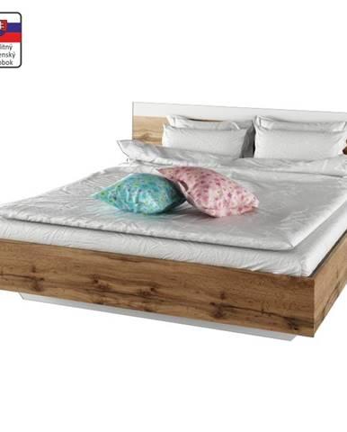 Gabriela 180 manželská posteľ dub wotan