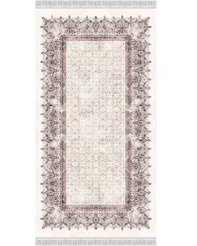 Linon koberec 80x150 cm krémovohnedá