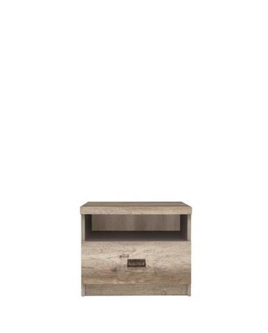 Malcolm KOM1S nočný stolík dub canyon monument