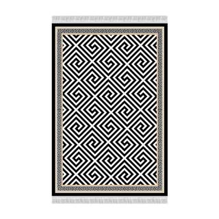 Motive koberec 80x150 cm čierna