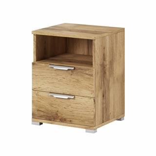Naka 2S nočný stolík dub wotan