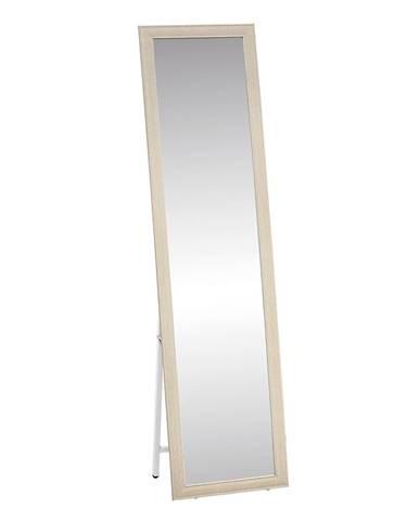 Asuel stojace zrkadlo bielosivá