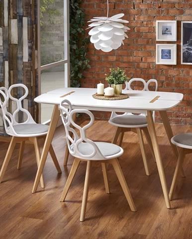 David jedálenský stôl biela