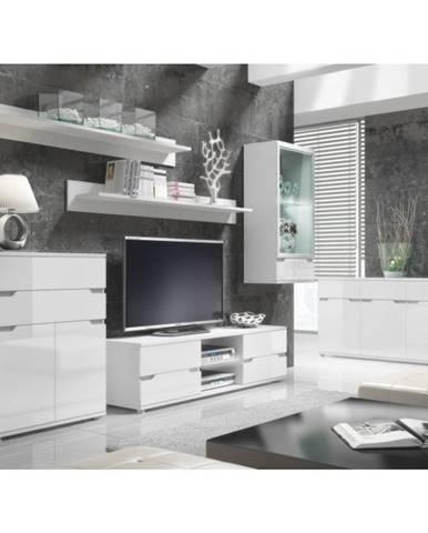 Adonis obývacia izba s osvetlením biela