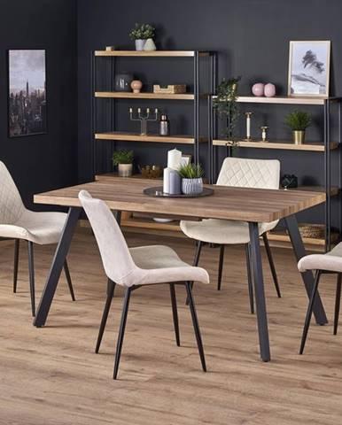 Berlin rozkladací jedálenský stôl orech medový