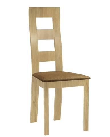 Farna jedálenská stolička svetlohnedá