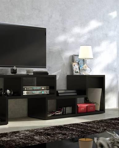Top univerzálny tv stolík čierna