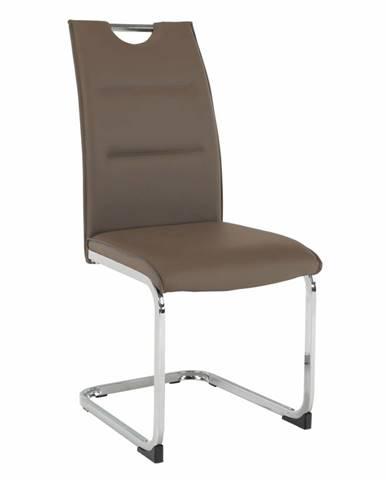 Tosena jedálenská stolička hnedá