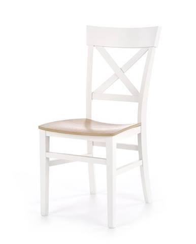 Tutti jedálenská stolička biela