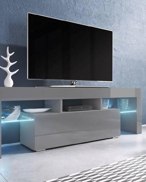 CAMA MEBLE Toro 138 tv stolík sivá
