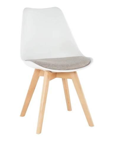 Damara jedálenská stolička biela