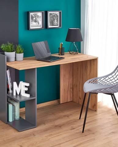 Fino písací stôl dub craft