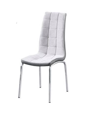 Gerda New jedálenská stolička sivá