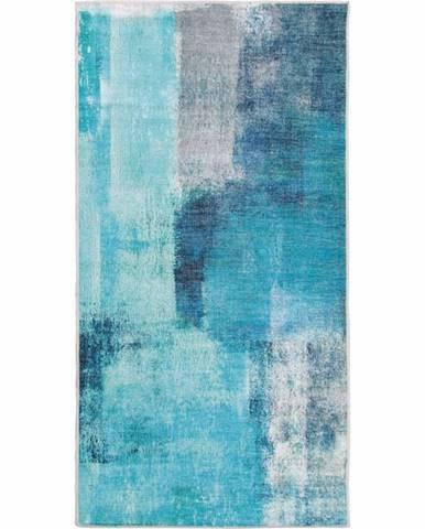 Esmarina Typ 2 koberec 80x150 cm modrá