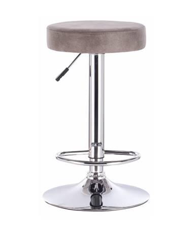 Galvin barová stolička sivohnedá