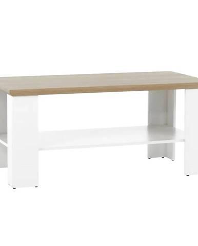 Leon MZ17 konferenčný stolík biela