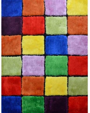 Ludvig Typ 4 koberec 80x150 cm červená