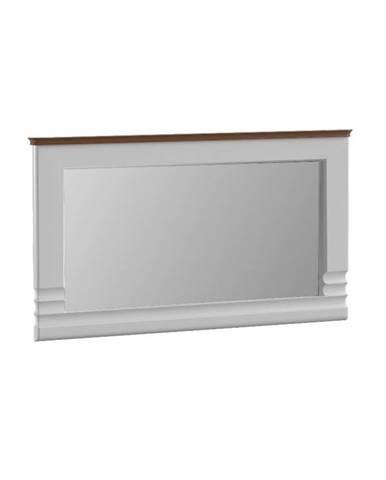 Torino TO-L1 zrkadlo na stenu biely vysoký lesk