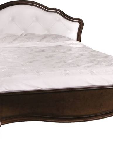Verona V-T 160 rustikálna manželská posteľ hnedá