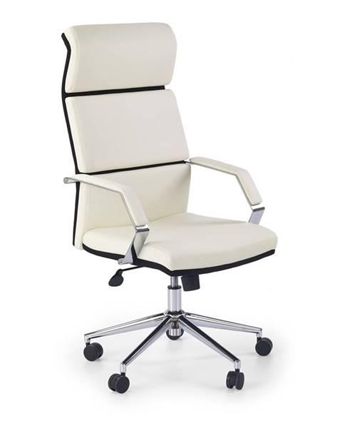 Halmar Costa kancelárske kreslo s podrúčkami biela