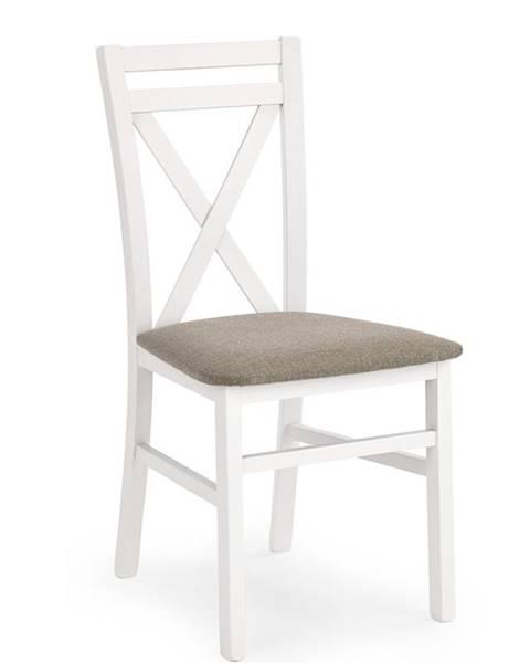 Halmar Dariusz jedálenská stolička biela