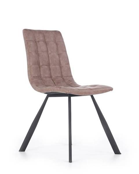 Halmar K280 jedálenská stolička hnedá