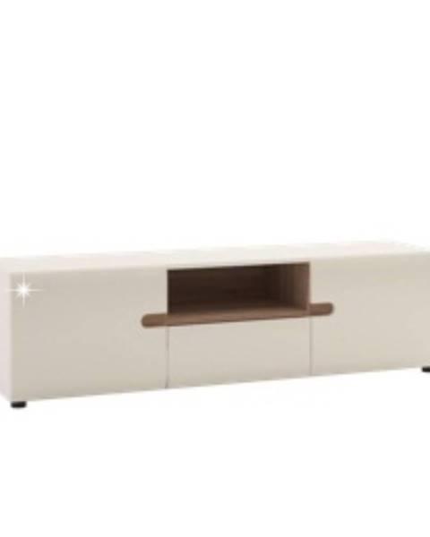 Tempo Kondela Lynatet 50 tv stolík biela