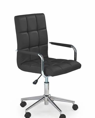 Gonzo 2 kancelárske kreslo s podrúčkami čierna