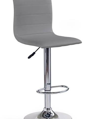 H-21 barová stolička sivá