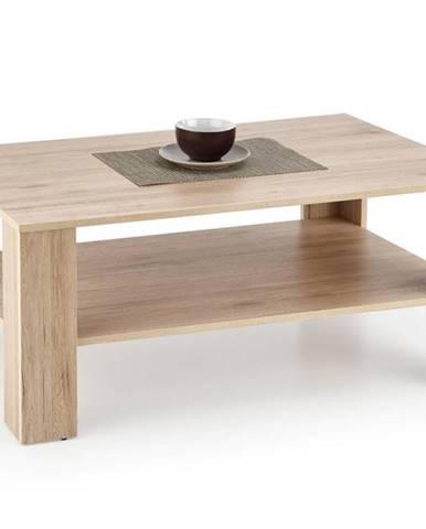 Kwadro konferenčný stolík dub san remo