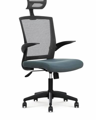 Valor kancelárska stolička s podrúčkami čierna