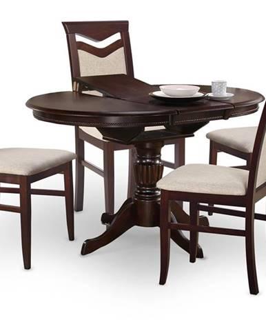 William rozkladací jedálenský stôl tmavý vlašský orech