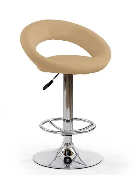 Halmar H-15 barová stolička krémová