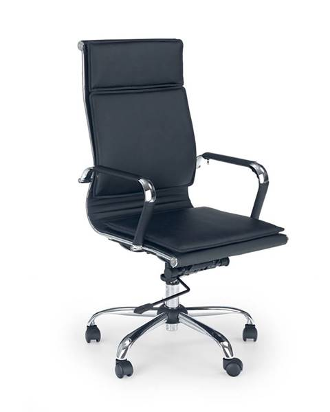 Halmar Mantus kancelárska stolička s podrúčkami čierna