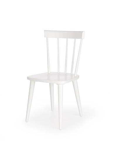 Barkley jedálenská stolička biela
