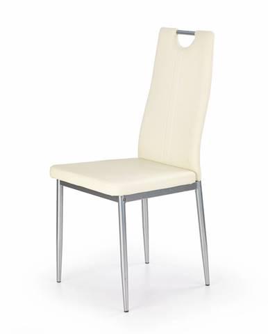 K202 jedálenská stolička krémová