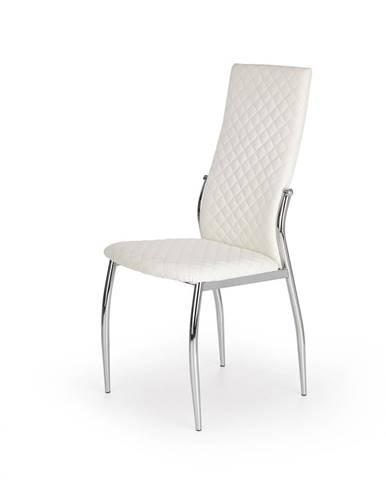 K238 jedálenská stolička biela