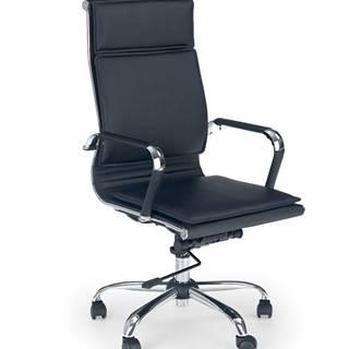 Mantus kancelárska stolička s podrúčkami čierna