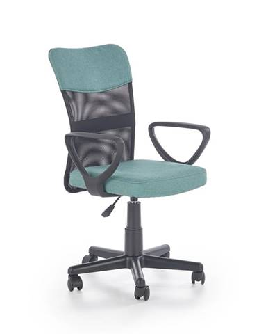 Timmy kancelárska stolička s podrúčkami tyrkysová