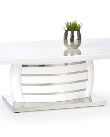Alison konferenčný stolík biely lesk