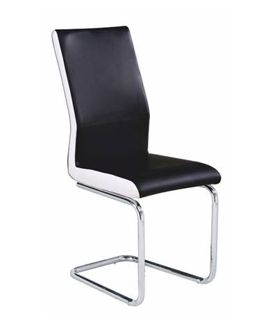 Neana jedálenská stolička čierna