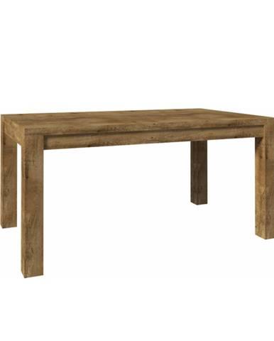 Nevada ST 160 jedálenský stôl dub lefkas tmavý
