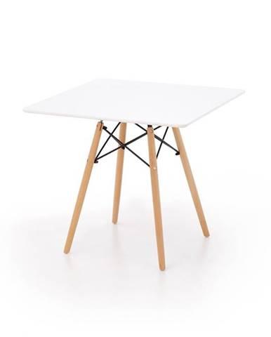 Prometheus jedálenský stôl biely lesk