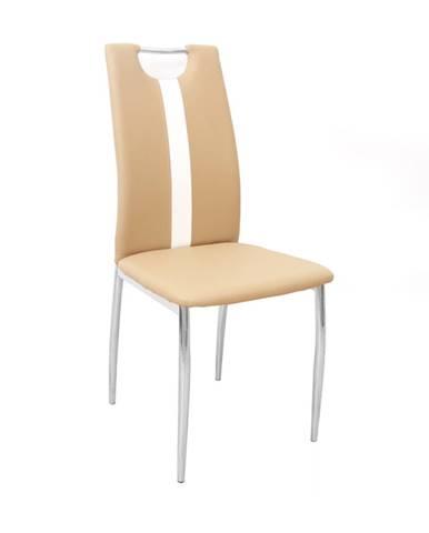 Signa jedálenská stolička béžová