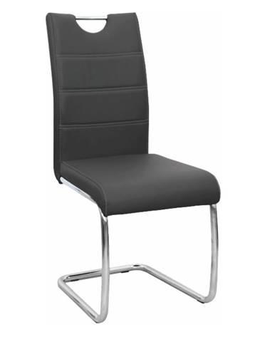 Abira New jedálenská stolička čierna