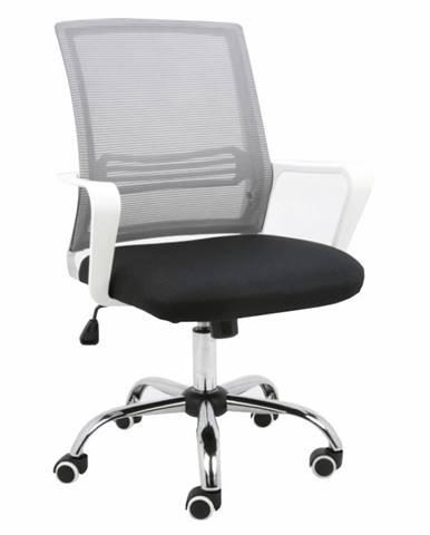 Apolo kancelárska stolička s podrúčkami sivá