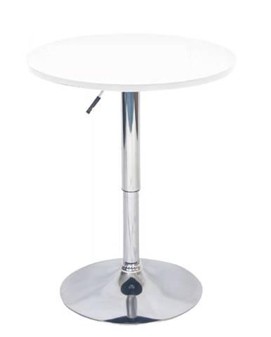 Brany New okrúhly barový stôl biela