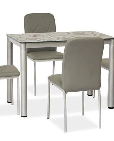 Damar jedálenský stôl sivá