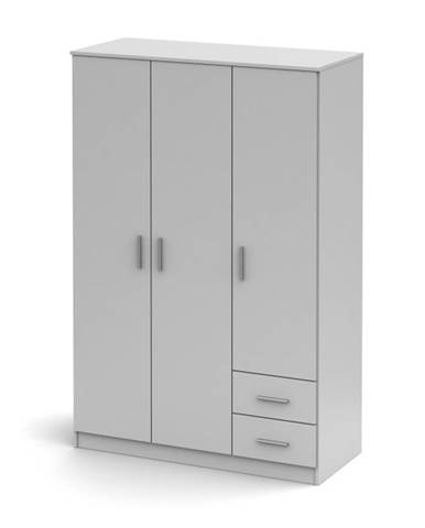 Noko-Singa 84 3D šatníková skriňa biela