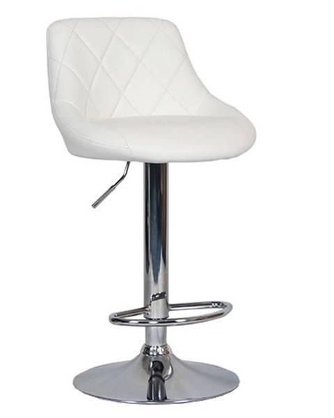 Tempo Kondela Marid barová stolička biela